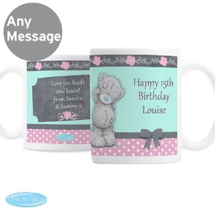 Personalised Me To You Pastel Belle Ceramic Mug